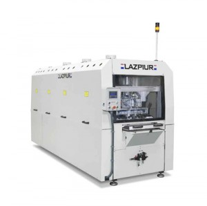 MACHINE FOR CIRCUIT BOARD CONFORMAL COATING BY IMMERSION WITH PNEUMATIC MANIPULATOR