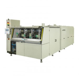 MACHINE FOR CONFORMAL COATING OF CIRCUIT BOARD EDGES BY IMMERSION